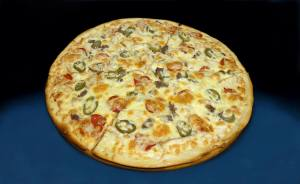 Пицца с холопеньо