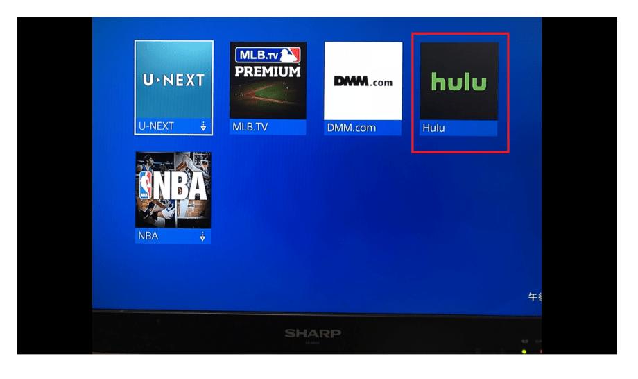 Hulu(フールー)をプレイステーション4で視聴