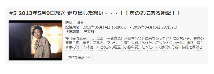 「ラストシンデレラ」第5話の動画「走り出した想い…!!恋の先にある衝撃!!」
