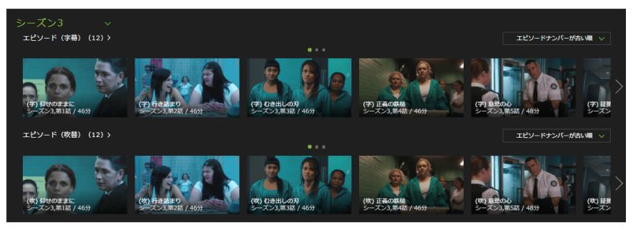 「ウェントワース女子刑務所」シーズン3の動画のあらすじ
