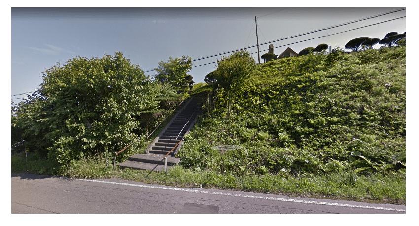 男はつらいよの北海道ロケ地「虎杖浜神社」
