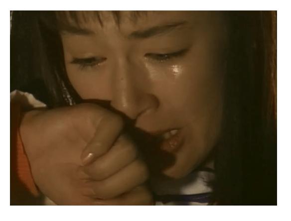 東京ラブストーリーで電車の中で号泣するリカ