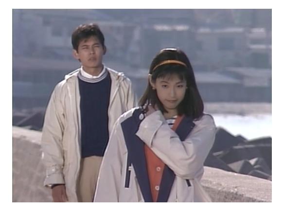 東京ラブストーリーでカンチがリカに「もっと楽に生きろよ」というシーン