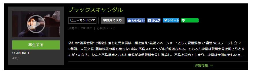 「ブラックスキャンダル」のドラマ動画(1話~10話<最終回>)