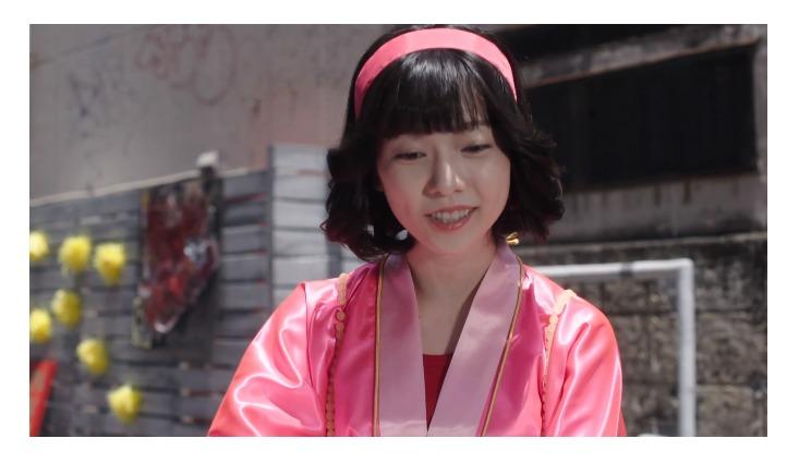実写ドラマ「今日から俺は」で特別出演した島崎遥香