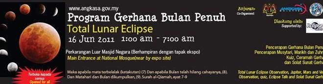 Gegaran Gempa Bumi 14 Jun Dan Gerhana Bulan Penuh 16 Jun