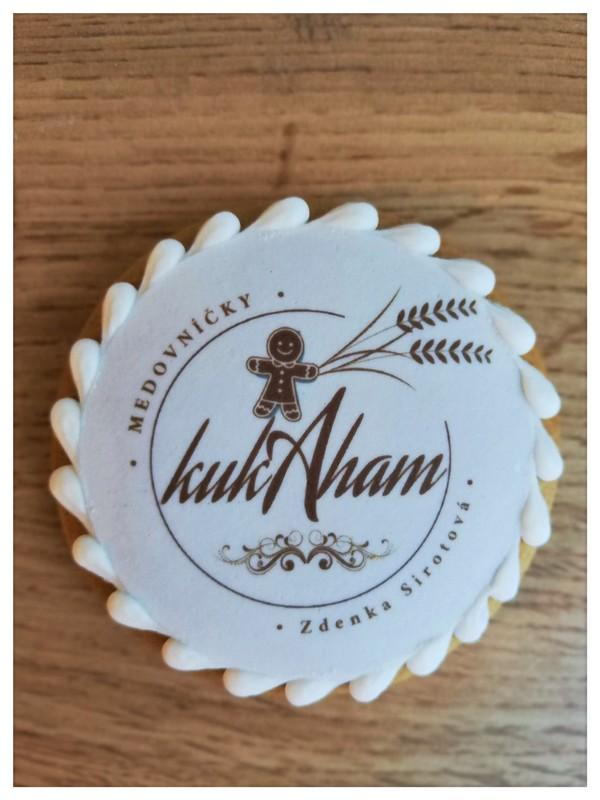 Reklamný medovník s logom