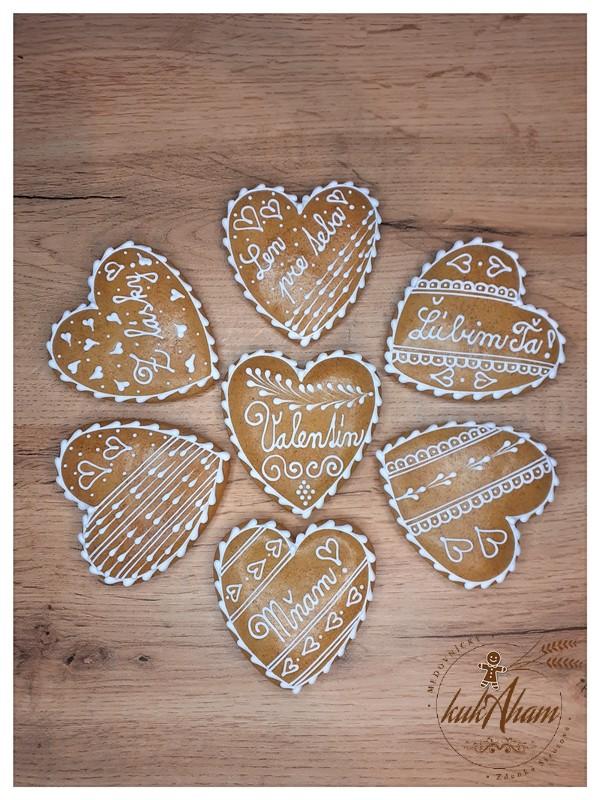 Pohár Valentín a ľúbim ťa