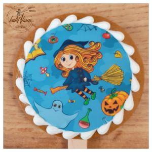 Halloween malá čarodejnica