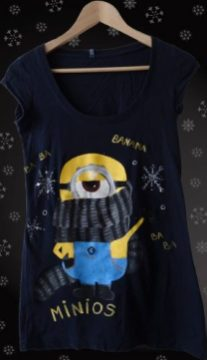 Odjeća Minion Тениска