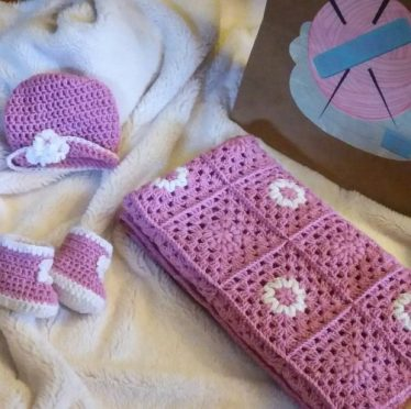 Ćebence za bebe, papice i kapica