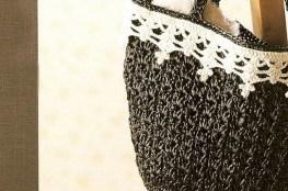 Pletene torbe Šema za pletenje