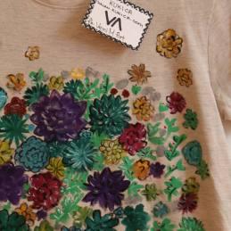 Majica Succulents