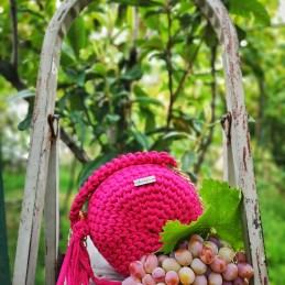 Early autumn Raspberry bag