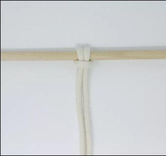 Makrame tehnika Osnovni čvorovi