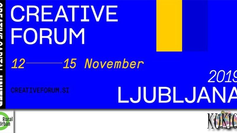Kreativni forum Ljubljana 2019