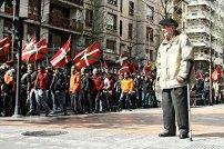March in Irun.