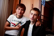 SORROW: Muratbek Tapbaev's, friend and Viktor Bozhenko's younger brother Alexandr was murdered in age of 21 in October 2012. He had become a key witness. Alexandr testfed in court during spring 2012 about police tortures that happened during several months in police cells right afer the Zhanaozen massacre. Alexandr had heard how a commandment to use violence came directly from the president. Five months later, he was murdered.