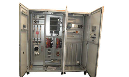 control wiring diagram of apfc panel air conditioning components panels plc automation mcc pcc lt