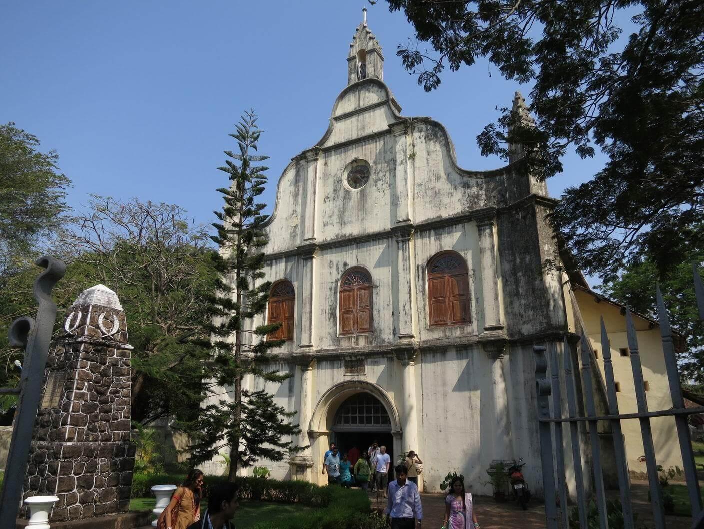 Kostel sv. Franciska v Kerala
