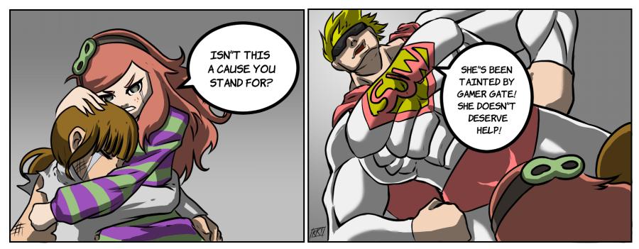 comic rape