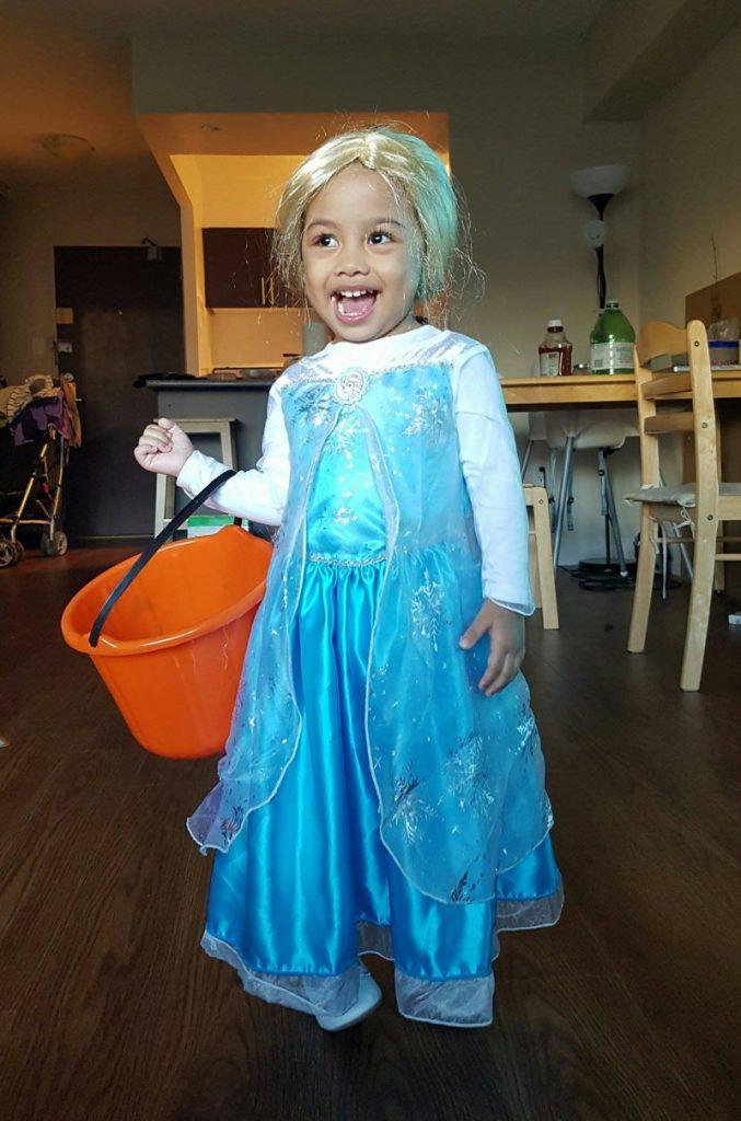 Kaite as Elsa
