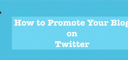 Promoting blog on twitter