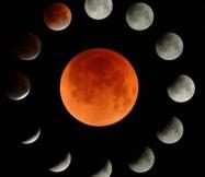 Лунное затмение. 28 июля 2018