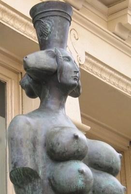 Кибела. Скульптура