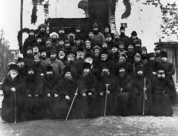 Соловки. заключенное священство