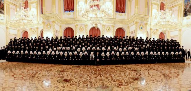 Архиерейский Собор. 2013. Встреча с Президентом