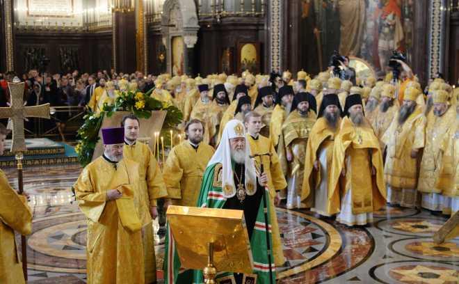 празднование интронизации патриарха 2018