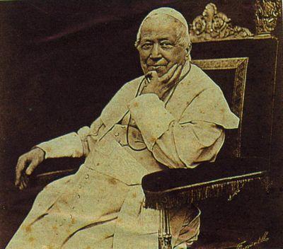 папа Пий IX