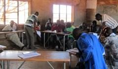 Zambia classroom