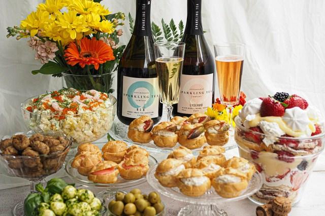 Copehagen Sparkling Tea alkoholittomat kuohuvat teejuomat