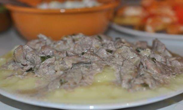 Beefstrods a marhahúsból a tejföllel - 5 recept fotóstel