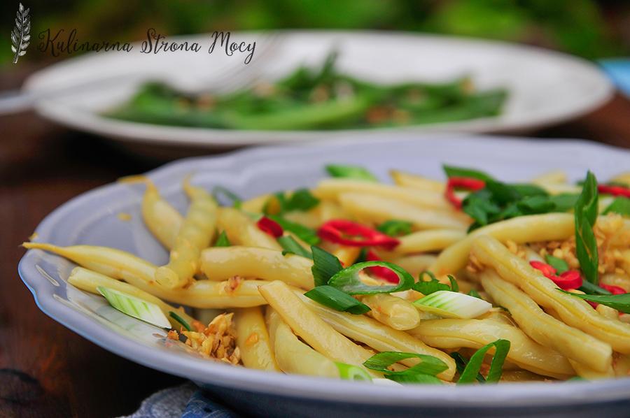 fasola szparagowa po tajsku
