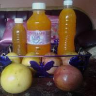You can add sugar or stevia n water n stir it well.