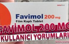 Favimol 200 Mg Kullanıcı Yorumları