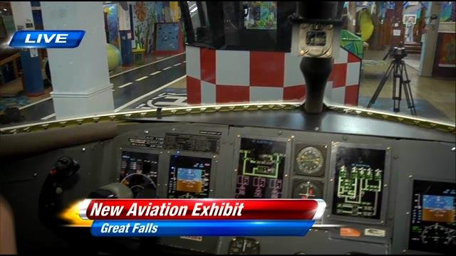 New Aviation Exhibit At The Children S Museum Of Montana