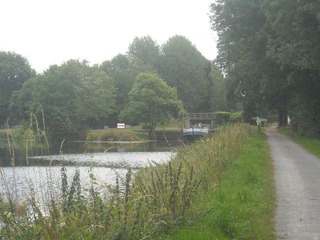 Schleuse (Écluse) von Limur – Canal Nantes-Brest
