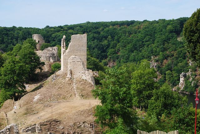 August in Crozant, Gramat und Vic la Gardiole