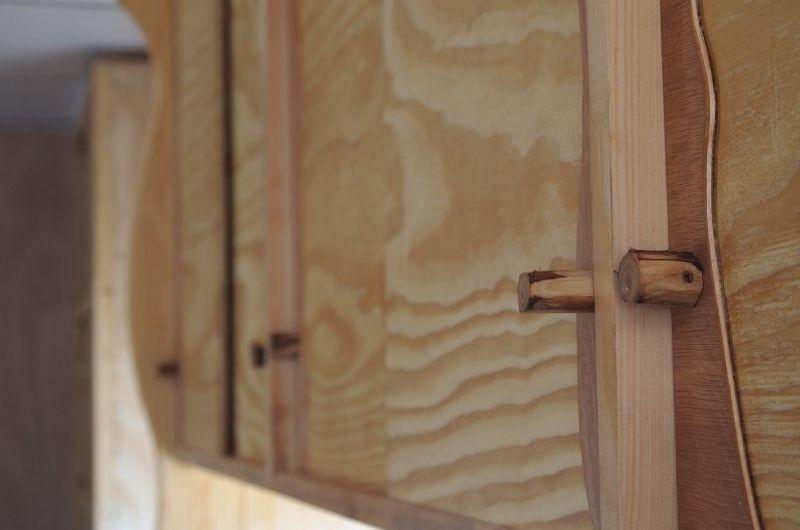 Verschönerungen und Deckenkonstruktion