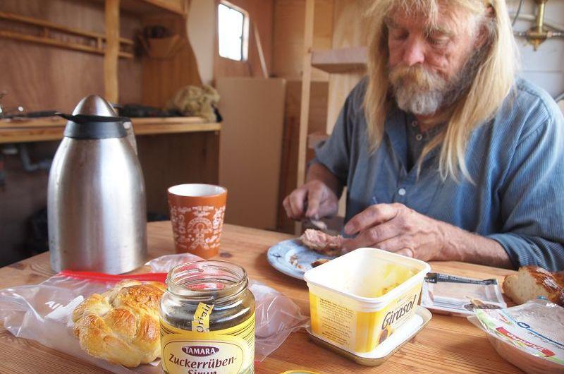 Ein erstes Frühstück im Ernie