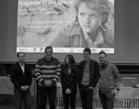 Markus Mörth (Regie: Boris Bukowski - Fritze mit der Spritze), Sebastian Höft (Vorsitz ÖH-Kunstuniversität Graz), Isabela Estrada (Referentin, Kultref - Kulturreferat ÖH Uni Graz), Sebastian Höglinger (Intendanz, Diagonale. Festival des österreichischen Films), Sascha Krebs (2. stv. Vorsitzender, HTU Graz) (c) Lukas Pürmayr