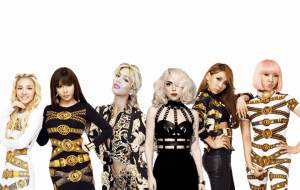2NE1 Beyonce and Lady Gaga Fantasy Collaboration