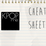 K-Pop Release Cheat Sheet 08/10/14-08/16/13
