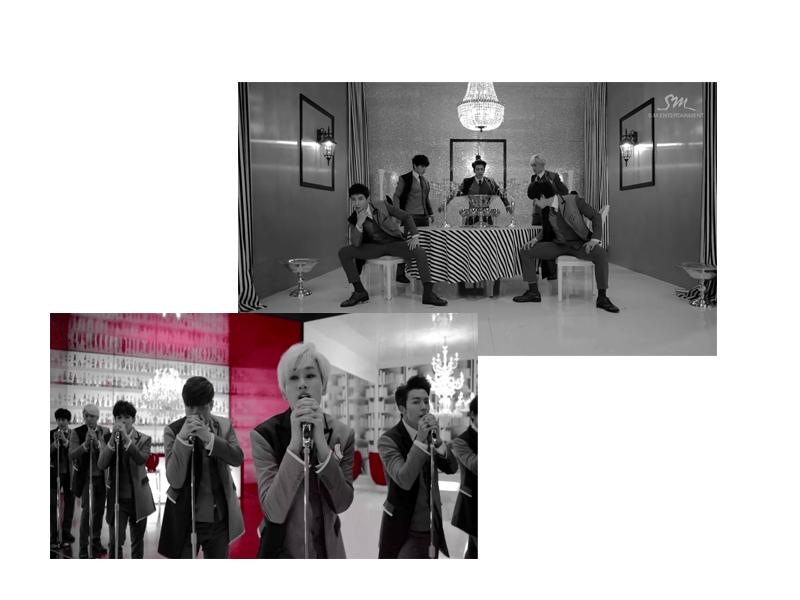 Super Junior Best Music Video Fashion October