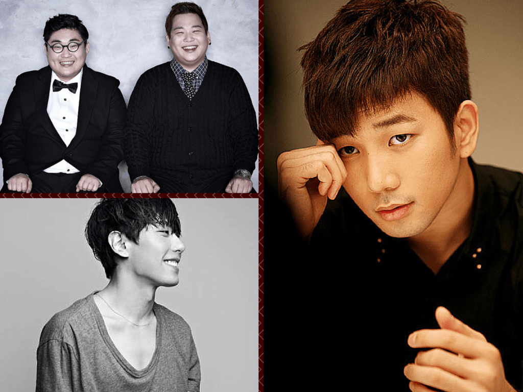 english covers by korean male singers g.o mblaq ze:a kevin 2bic