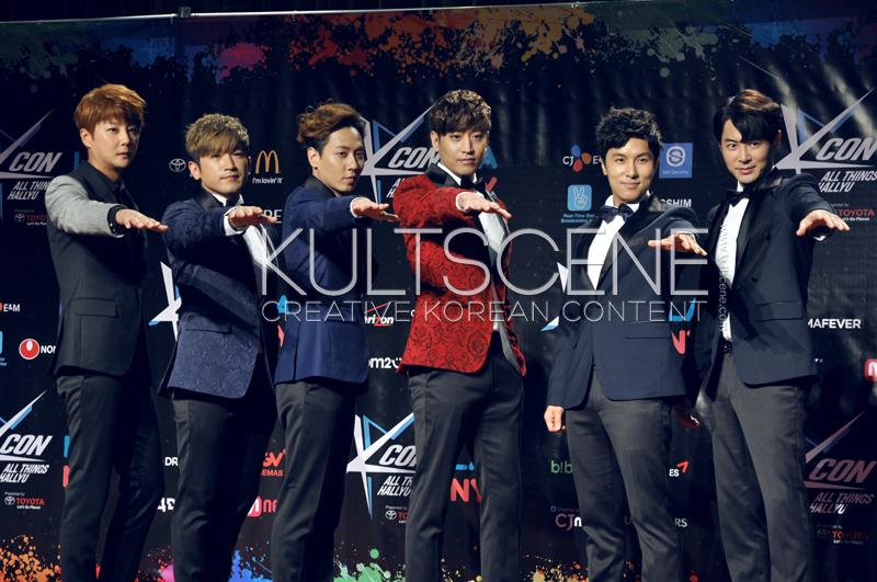 Shinhwa KCON 15 LA KultScene Red Carpet